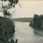 The Jawsfrom Black Hawk Rock - Dells of Wisconsin River  219