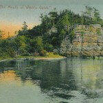 "The Dells of Wisconsin. ""The Mouth of Witch's Gulch #2"