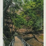 Entrance To Witche's Gulch, Dells of The Wisconsin River - 70