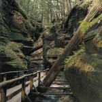 Witches' Gulch. Dells of The Wisconsin River.