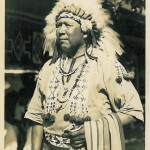 Chief Yellow Thunder at Dells Park Trading Post